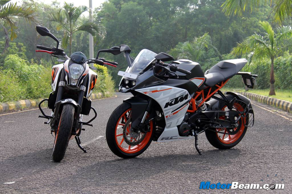 KTM RC 390 vs Duke 390 Test Ride Review