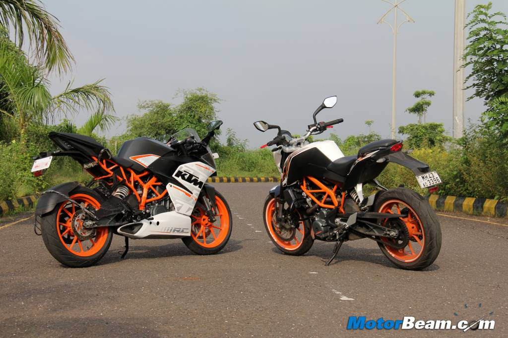 KTM RC 390 vs Duke 390 Which To Buy