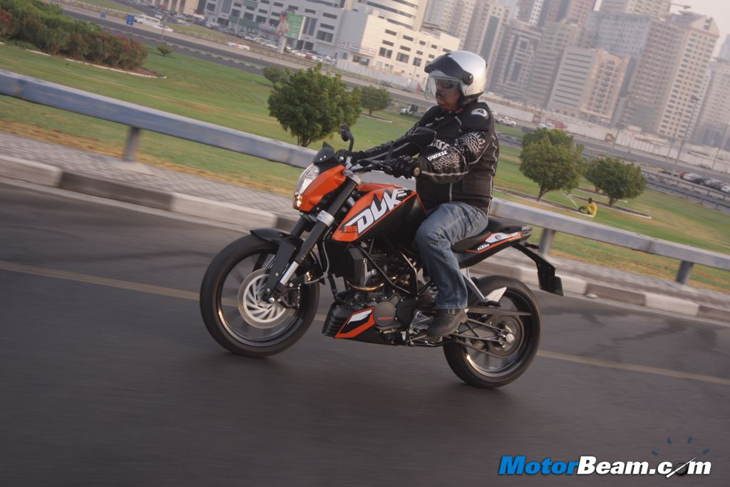 KTM Duke 125 Test Ride