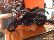 KTM Duke Test Ride Bike