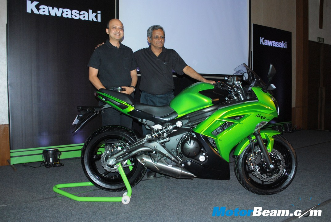 Kawasaki Launches 2012 Ninja 650R In India