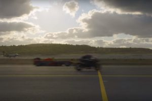 Kawasaki Ninja H2R Wins Drag Race Against Fighter Jet, F1 Car & Tesla [Video]