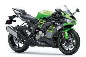 Kawasaki Ninja ZX-6R Side View