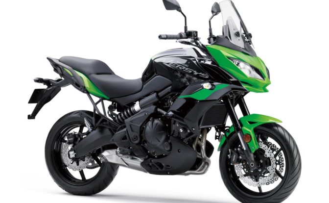 Kawasaki Versys 650 BS6 Candy Lime Green