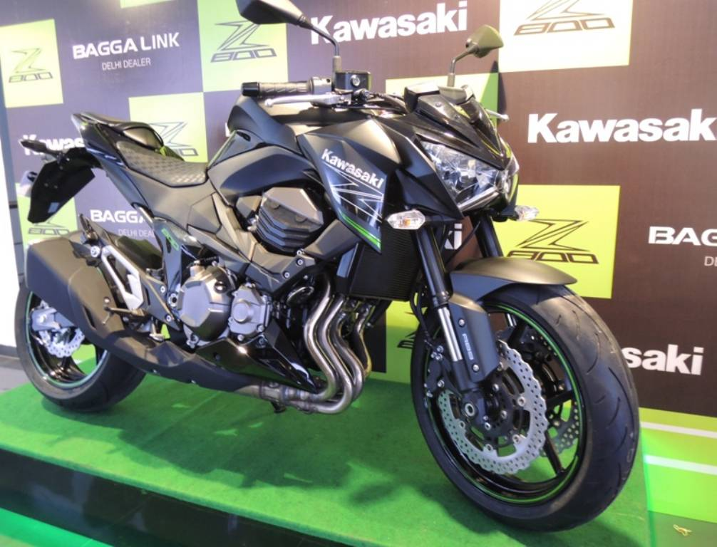 Kawasaki Z800 Launched In India, Priced At Rs. 8.05 Lakhs