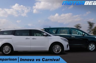 Kia Carnival vs Toyota Innova Hindi