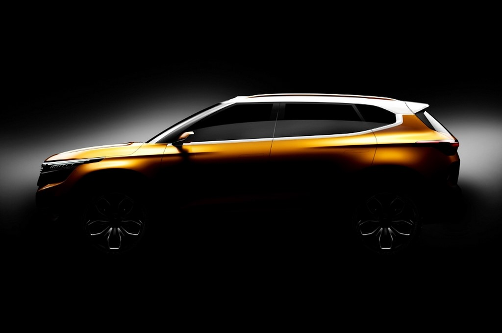 Kia SP Concept SUV Teased