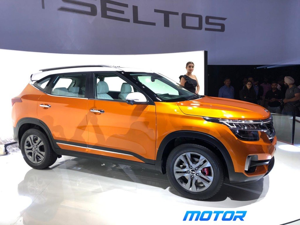 Kia Seltos Revealed In India, Makes Global Debut