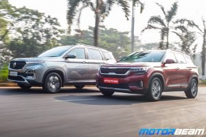 Kia Seltos vs MG Hector - Shootout