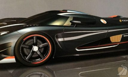 Koenigsegg One:1 side