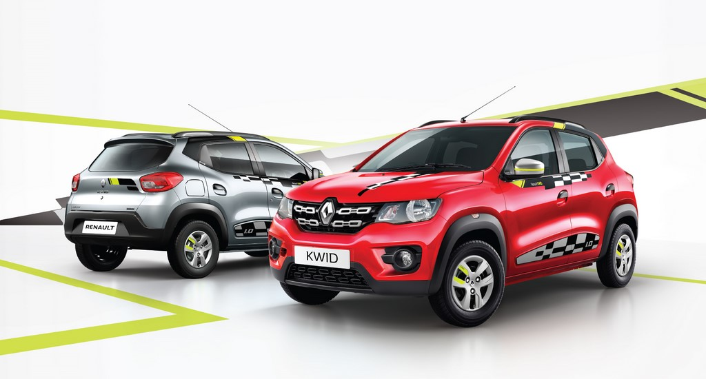 Kwid Live for More Reloaded 2018 Range