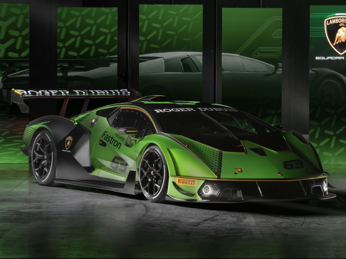 Front profile of the hypercar