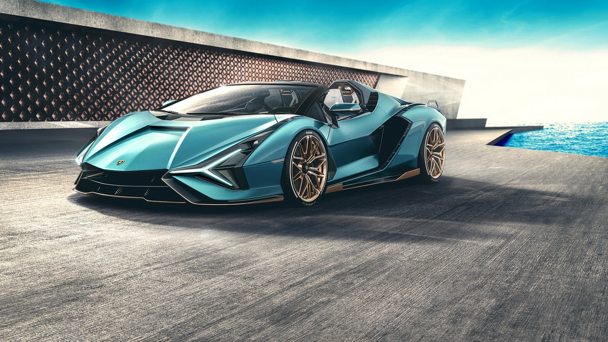 New limited edition roadster from Lambo