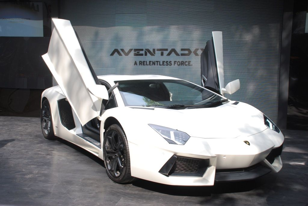 Lamborghini Aventador LP700-4 India Launch
