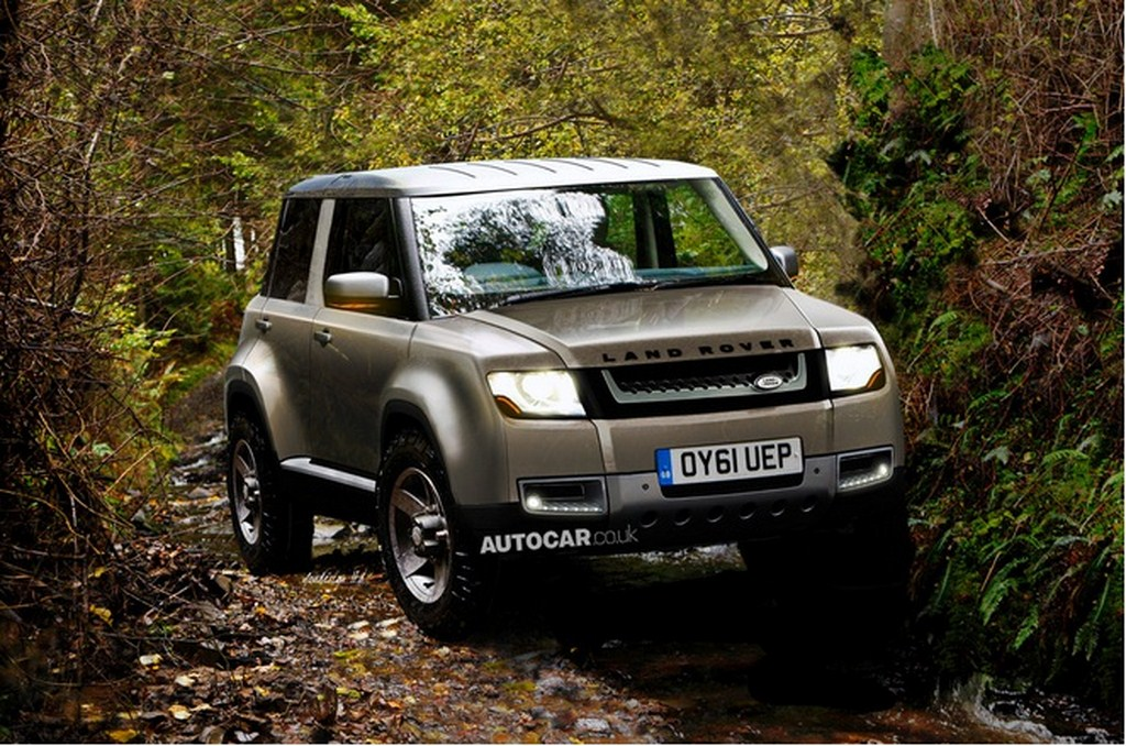 Land Rover Compact SUV Rendering