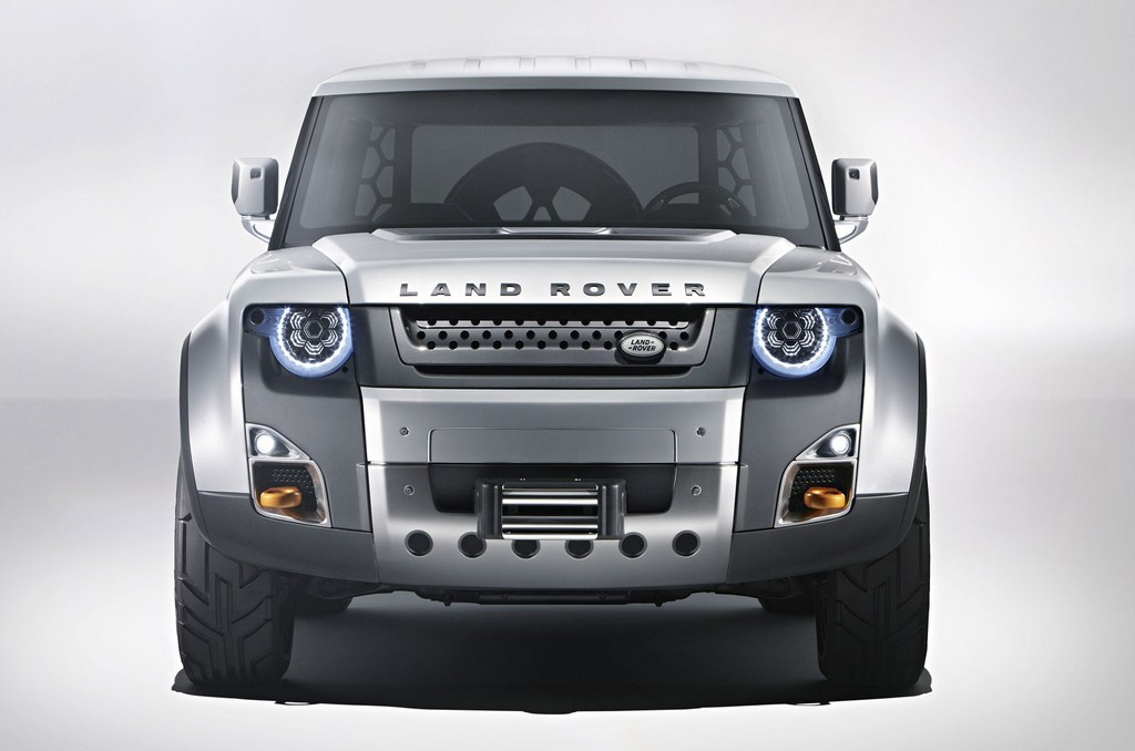 Land Rover DC100 Front