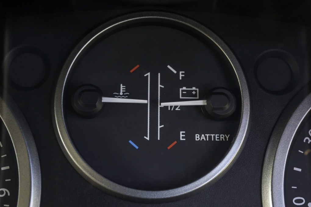 Land Rover Defender All Terrain Electric Battery Meter