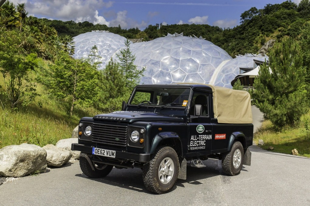 Land Rover Defender All Terrain Electric Front