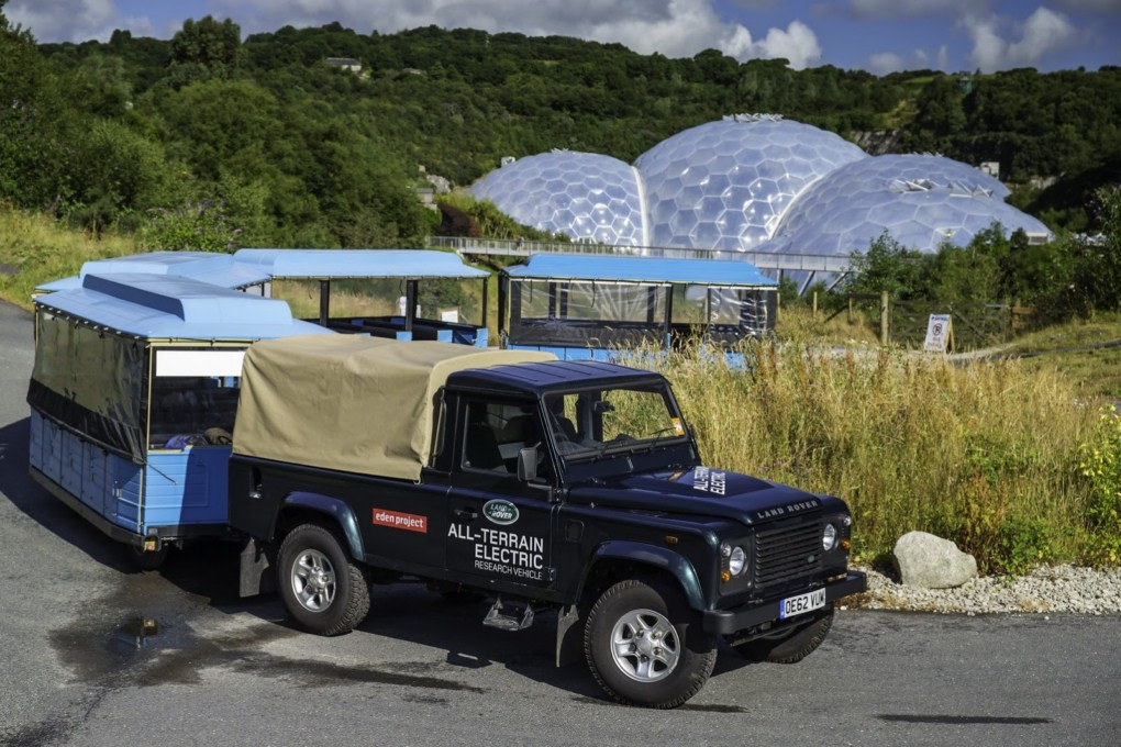 Land Rover Defender All Terrain Electric