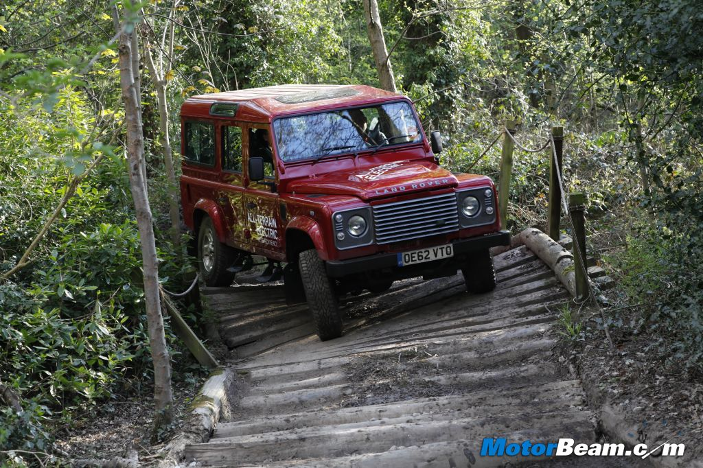 Land Rover Defender Electric Off-Road