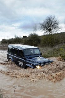 Land Rover Defender Electric water
