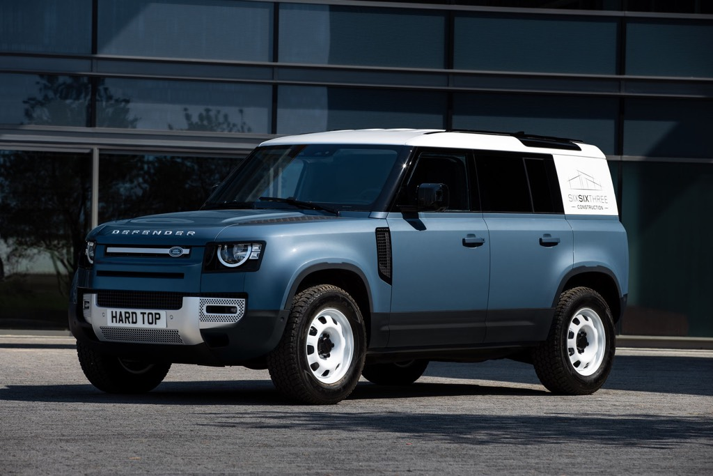 Land Rover Defender Hard Top Launch