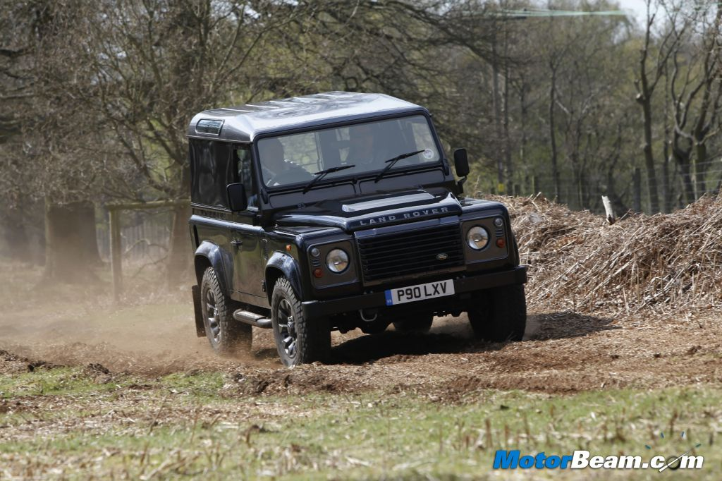 Land Rover Defender LXV Off Roading