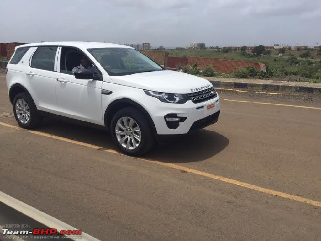 Land rover discovery sport ckd india