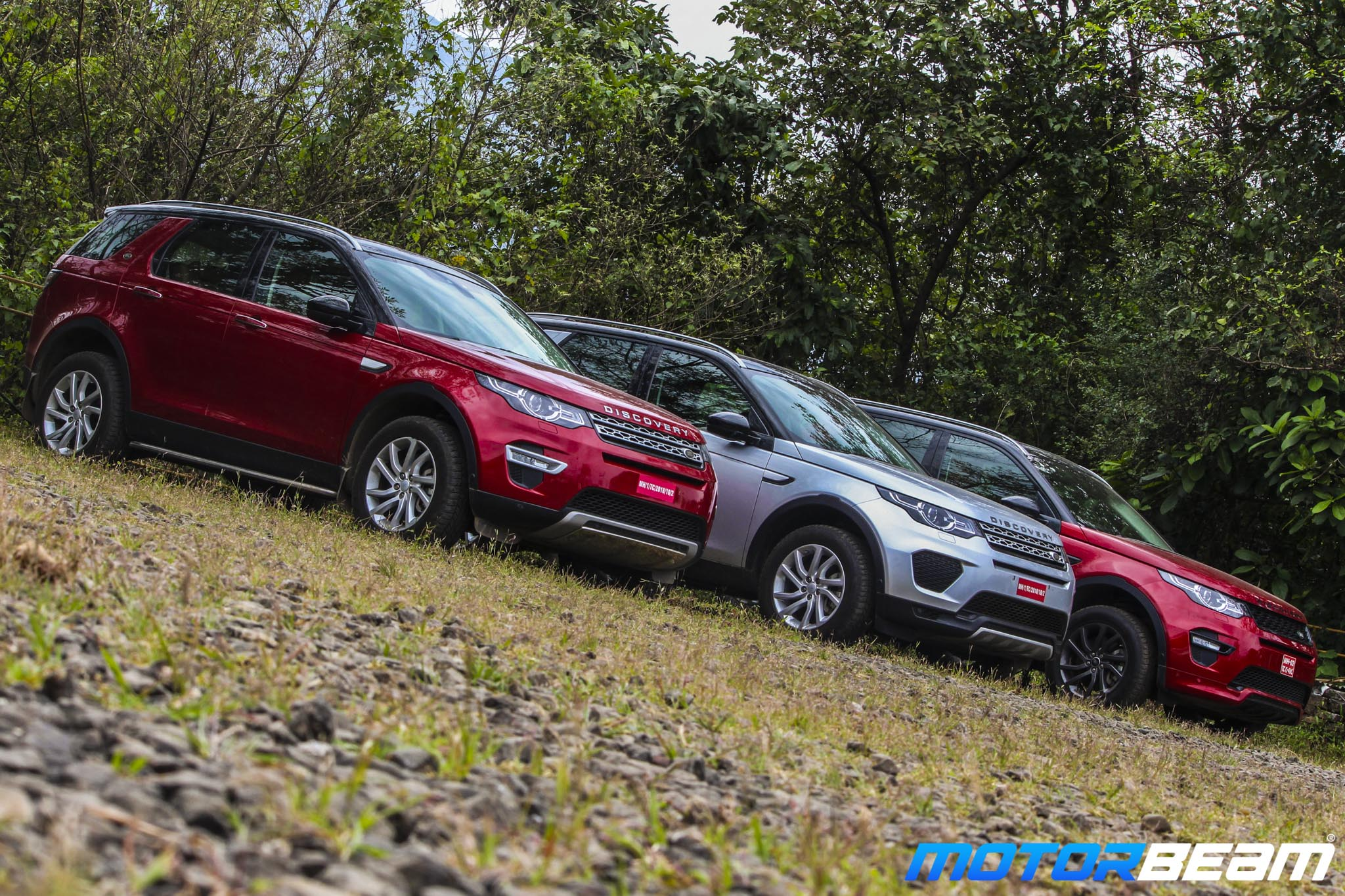 Land Rover Off-Road Experience Report