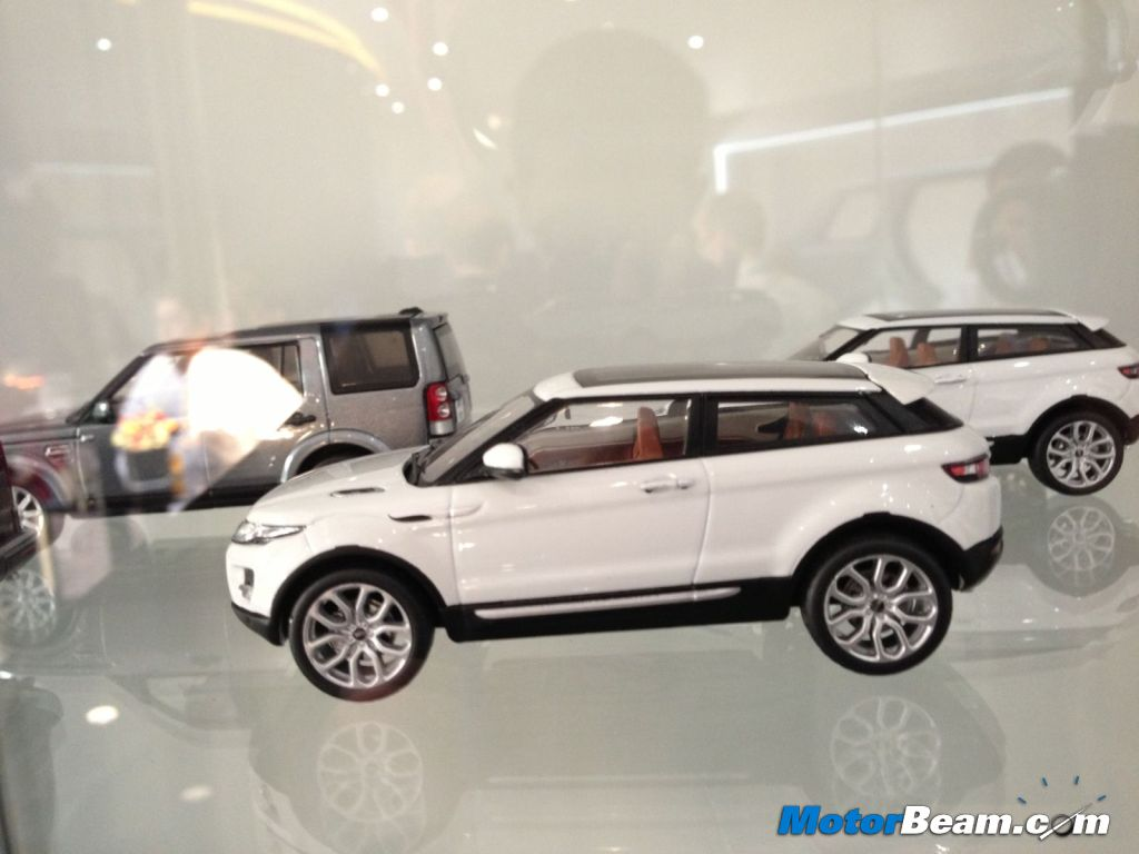 Land Rover Scale Models