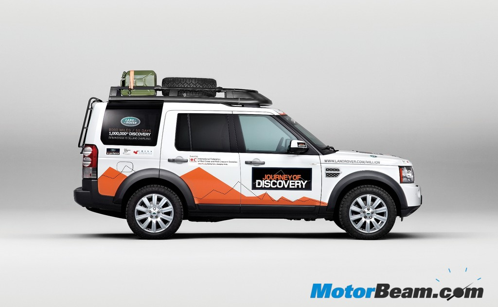 Land Rover expedition discovery