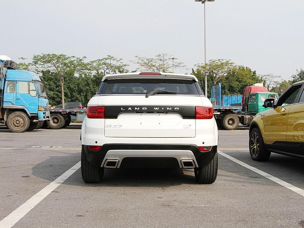 Land Wind X7 Rear