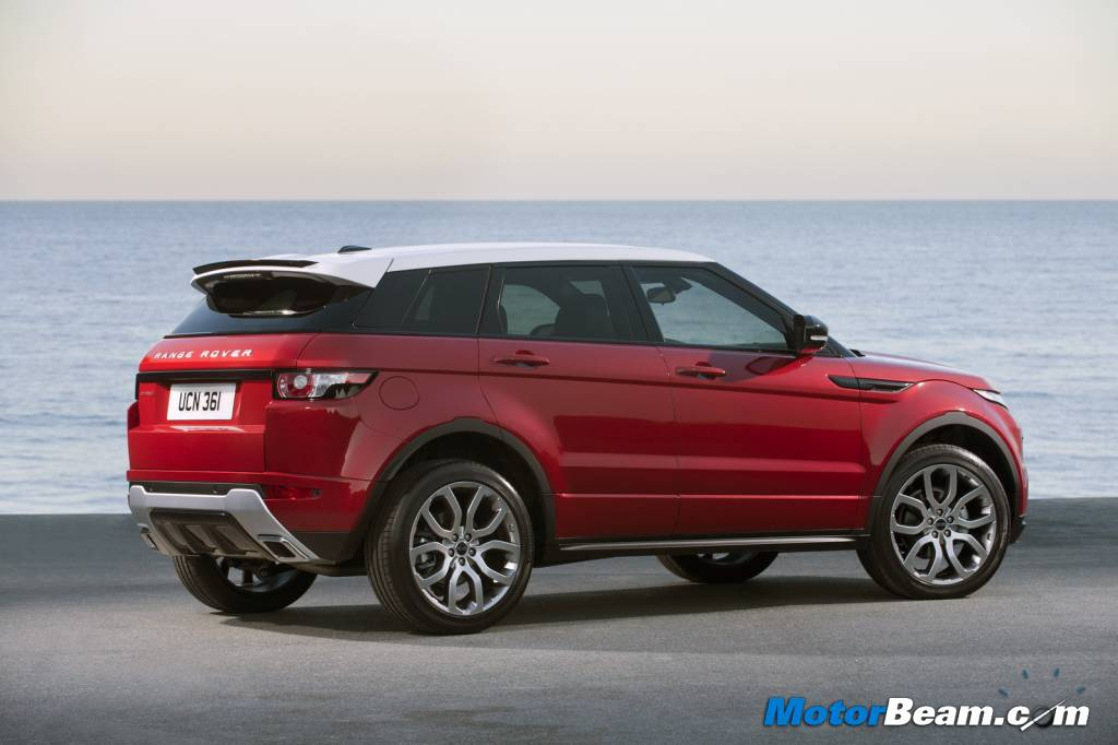 Land Rover Evoque India