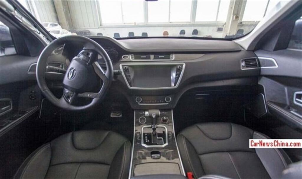 Landwind X7 Evoque Clone Interiors