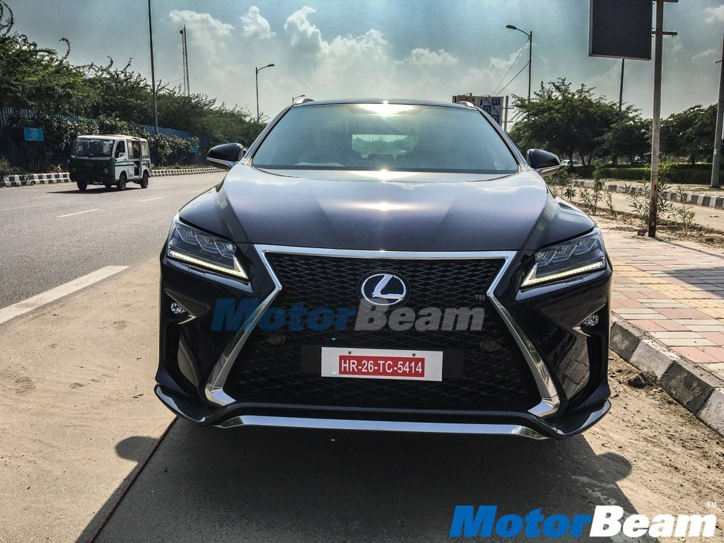 Lexus Rx 450h Spied In Delhi Deliveries Commence In Early 2017