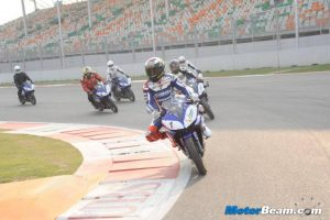 Lorenzo On R15 At Budh Circuit