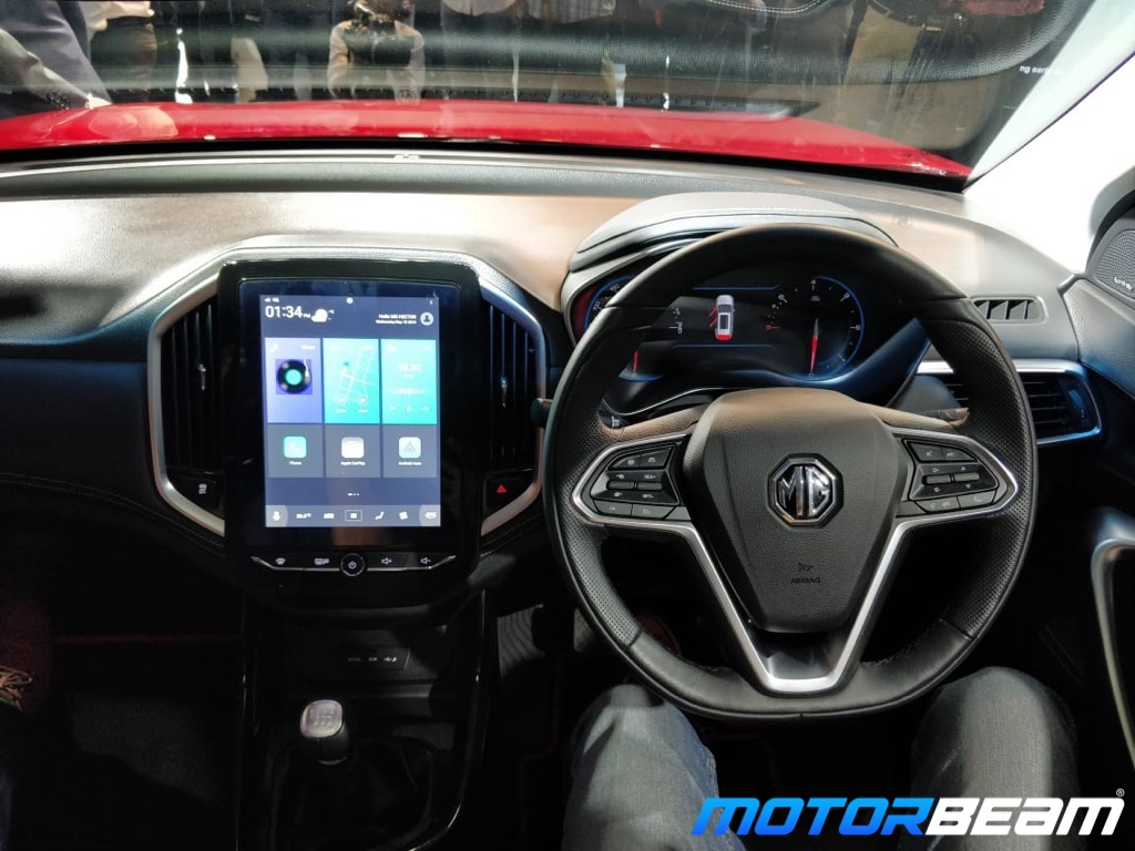 MG Hector Dashboard