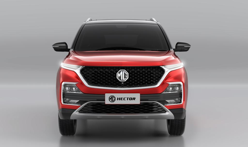 MG Hector Dual Tone Front