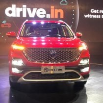 MG Hector Front