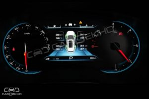 MG Hector Instrument Cluster