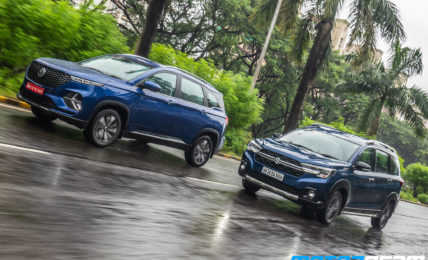 MG Hector Plus vs Maruti XL6