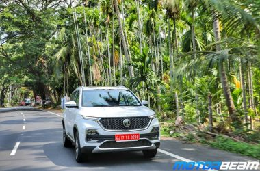 MG Hector Review Test Drive