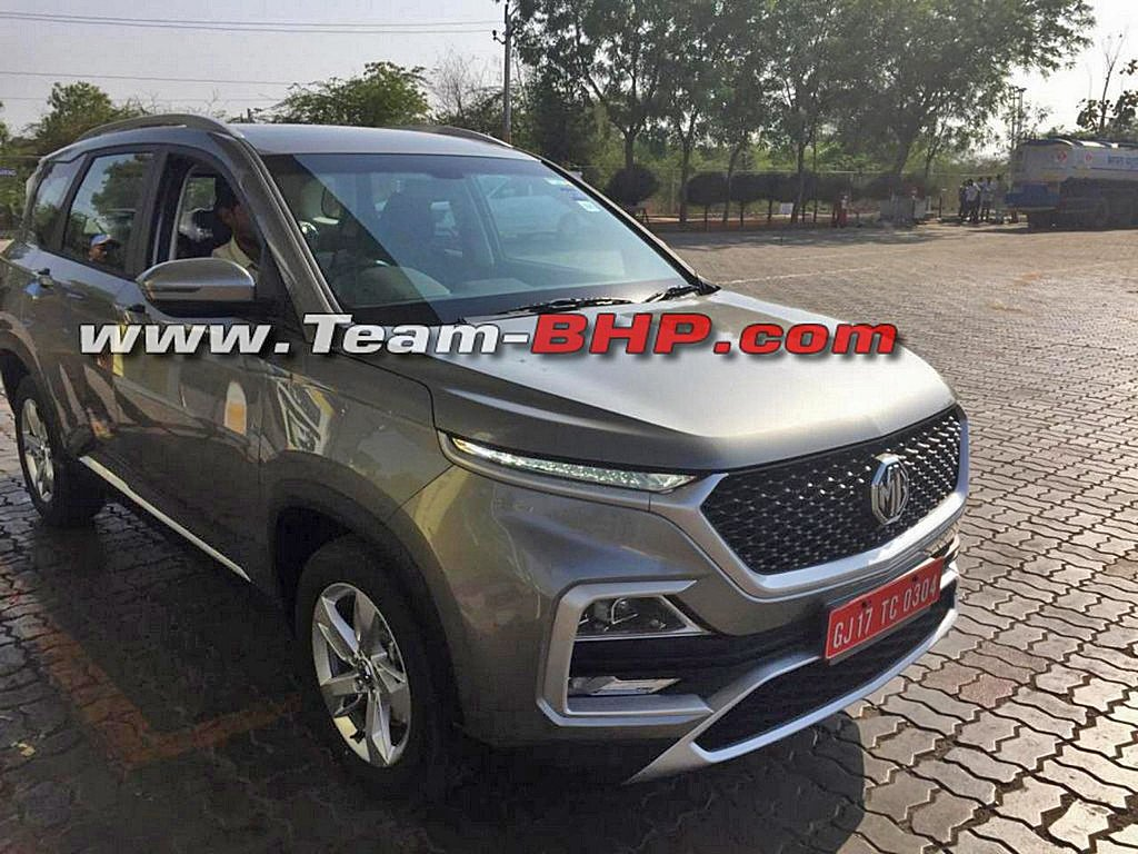 MG Hector SUV Spotted