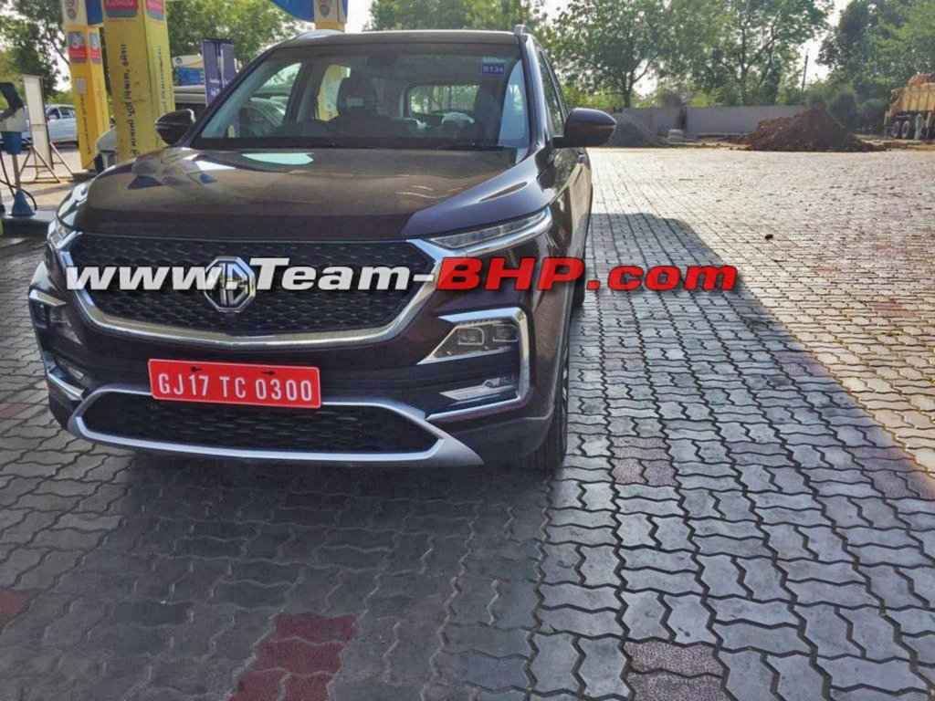 MG Hector SUV Without Camo