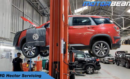 MG Hector Servicing