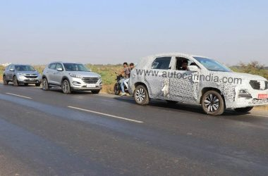 MG Hector Spied In India