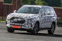 MG Maxus D90 SUV Spied