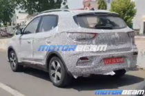 MG ZS Petrol Spied