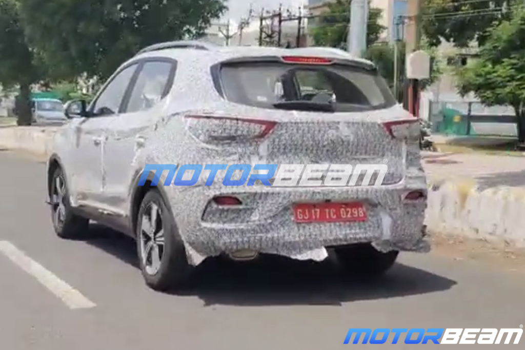 MG ZS Petrol Spotted