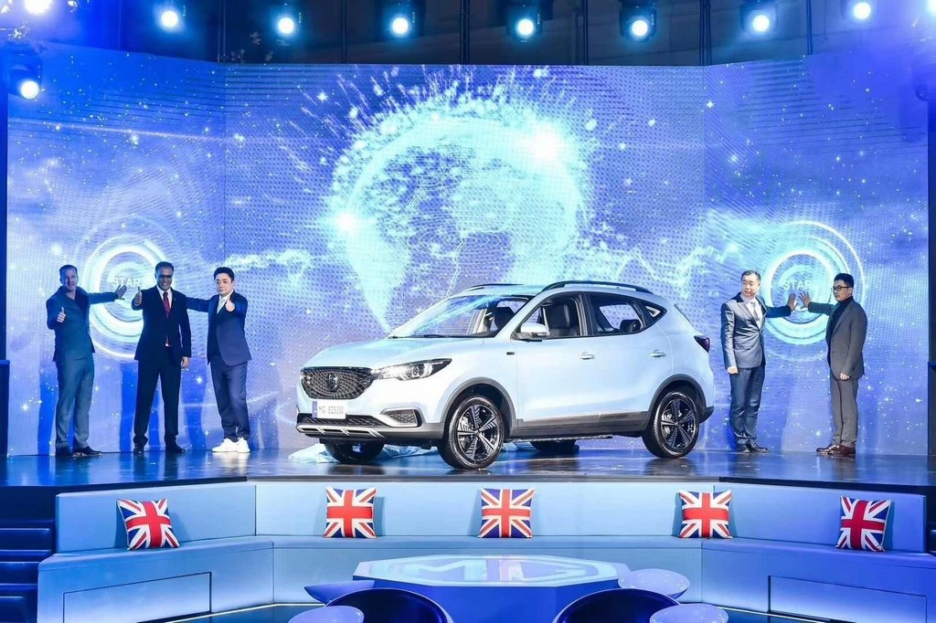 MG eZS EV Unveil